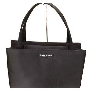 Kate spade black box purse like new